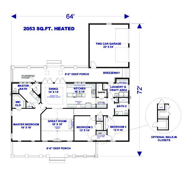 Rustic Kitchen Floor Plans: Rustic Splendor 3076 - 3 Bedrooms And 2.5 Baths