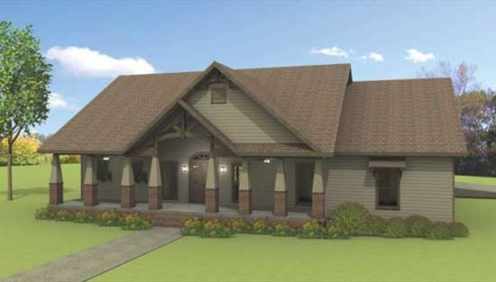 image of Rustic Splendor House Plan
