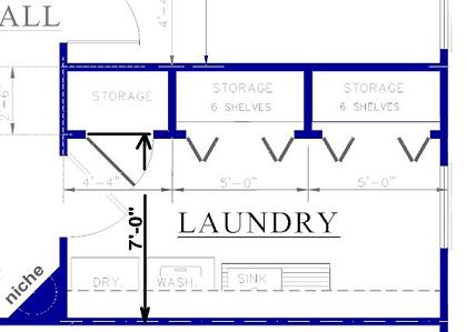 House Plans With A Central Laundry Room House Plans
