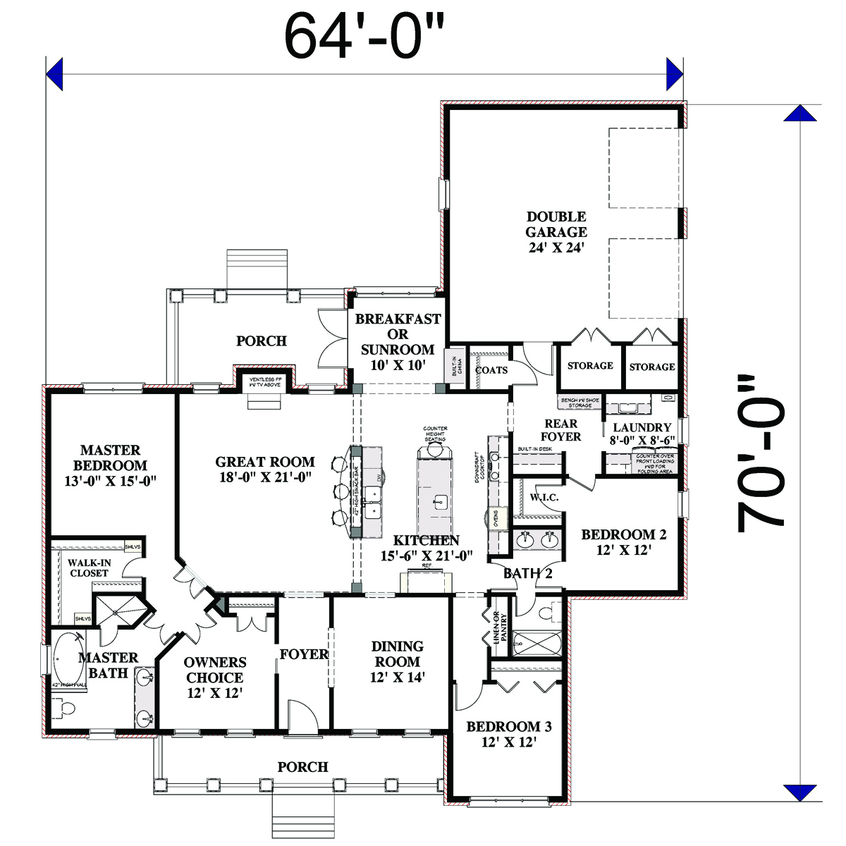 Laurel rush 3078 3 bedrooms and 2 5 baths the house The laurels floor plan