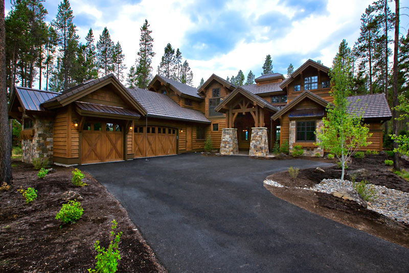 Attirant Magnificent Mountain 9069   4 Bedrooms And 4 Baths | The House Designers