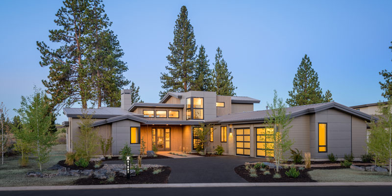 Large, Luxurious, and Impressive Contemporary Home Plan