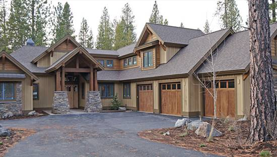 image of Mountain Craftsman House Plan