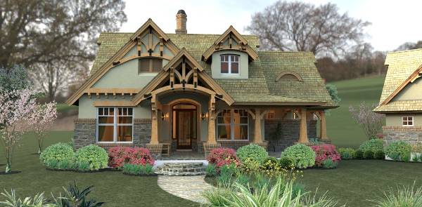 Home design america 39 s best house plans for Best selling craftsman house plans