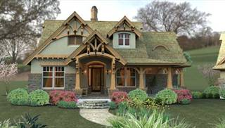 cottage house plans | coastal, southern style home floor designs