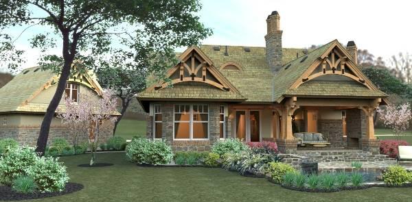 Merveille vivante small 2259 3 bedrooms and 2 5 baths the house designers for The house designers house plans