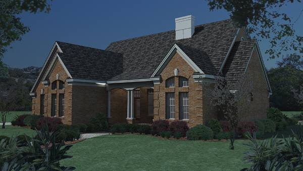 The Albany 5771 - 3 Bedrooms and 2.5 Baths | The House Designers on