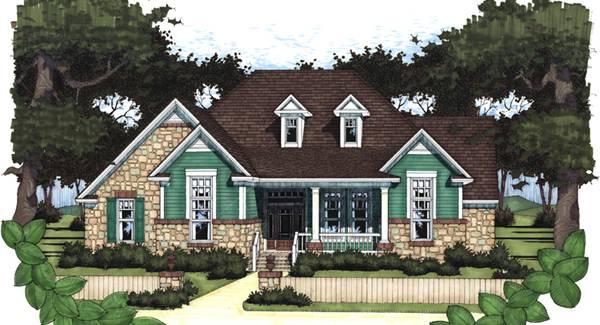 country farm house plan