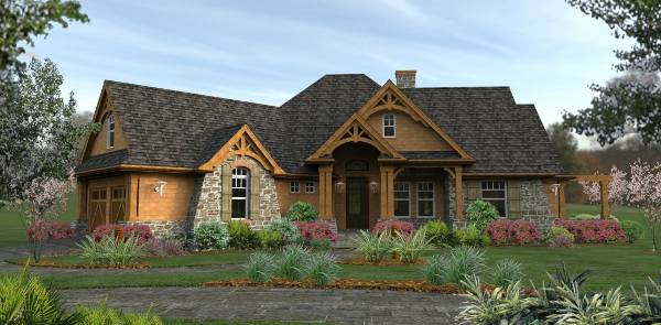 best-selling house plan from The House Designers