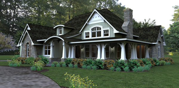 house plans, craftsman house plans, small house plans