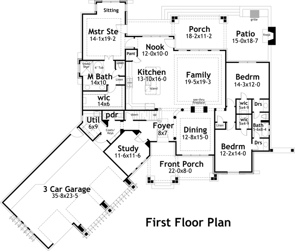 Improved Floor Plan For Your Family