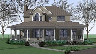 Image Of The Burnet House Plan