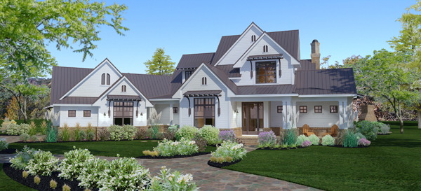 farm house plan packed with amenities