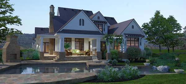 Outdoor cook house plans