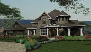 Luxury House Plans, Home & Kitchen Designs with Photos by THD on