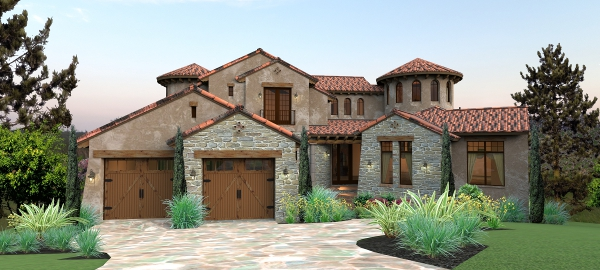 Tuscan house plan for Italian house design pictures