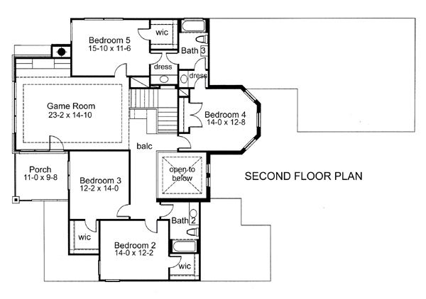 The Addison 5977 5 Bedrooms And 3 Baths The House