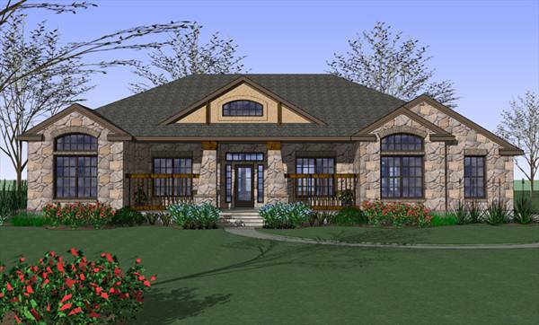 The House Designers House Plans | The Cottonwood 6745 3 Bedrooms And 2 5 Baths The House