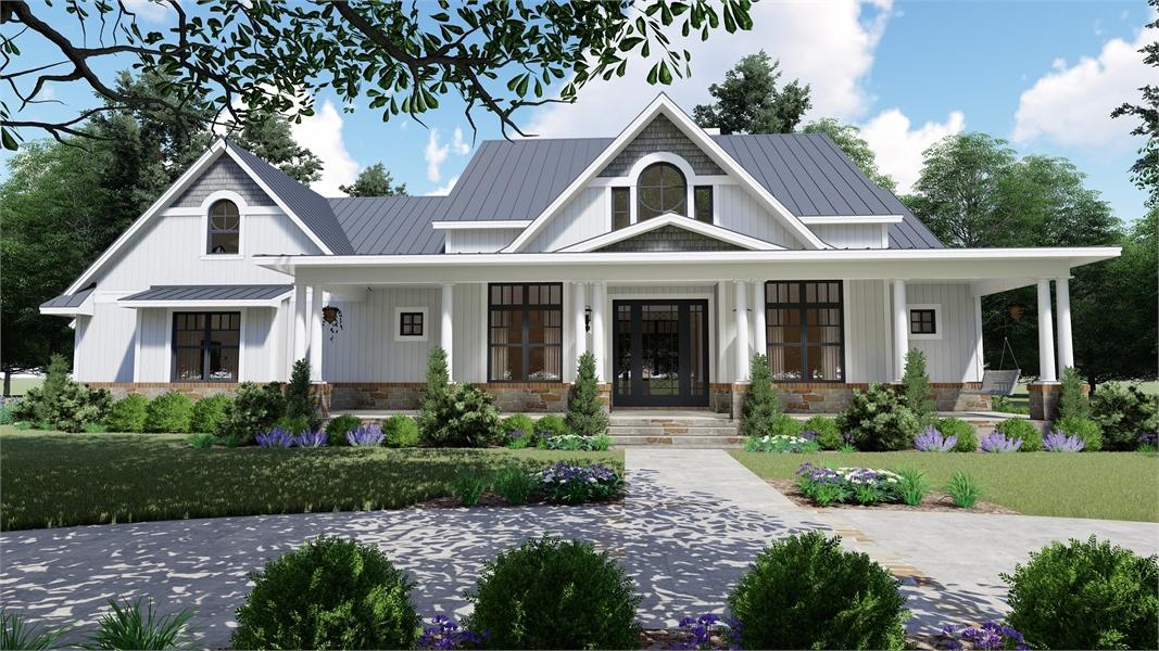 Charming Farmhouse Style House Plan 7172 Willow Creek