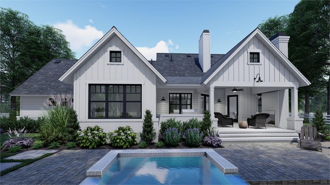 Charming Farm House Style House Plan 7377 High Meadow Cabin