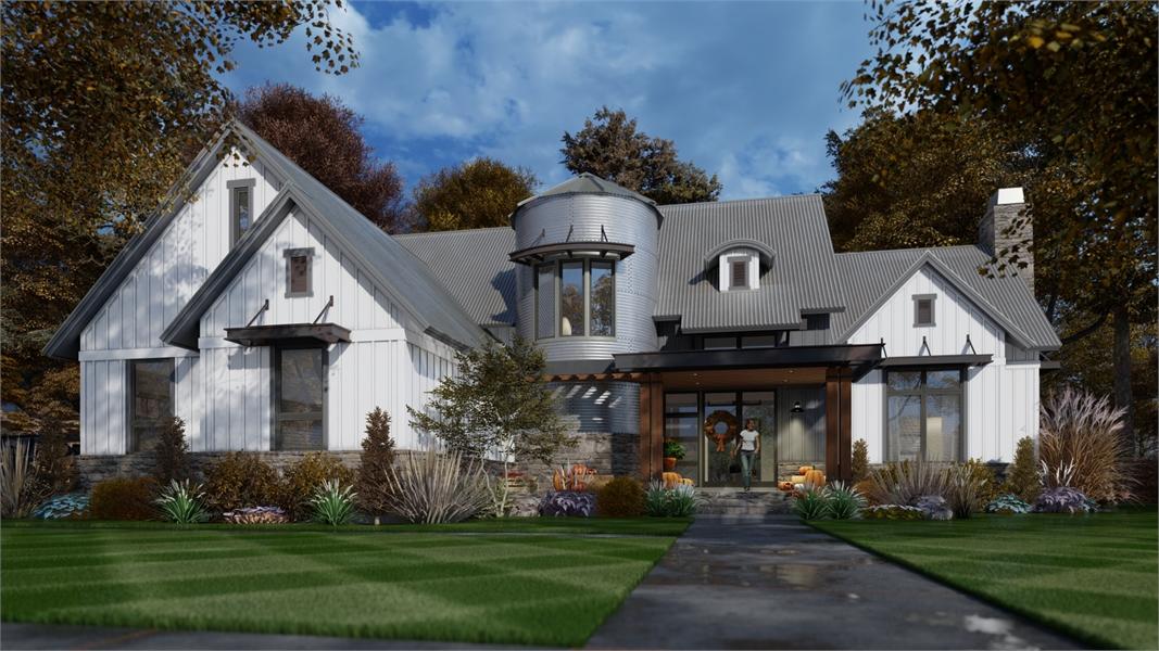 Rustic Farm House Style House Plan 7807: The Silo