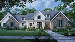 image of Cool Meadow Farm House Plan