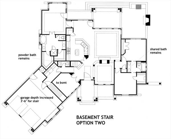 Basement Stair Option 2