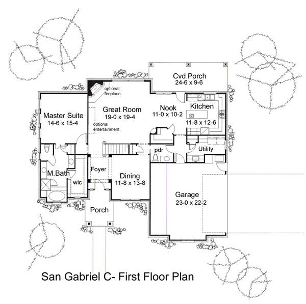 pics photos san gabriel mission layout floor plan