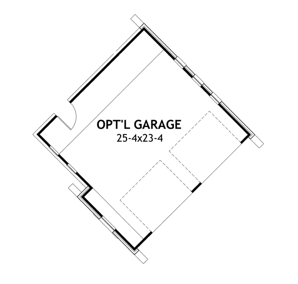 Detached Garage option