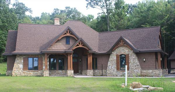 craftsman house plan perfect for a growing family