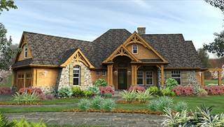 Fantastic Craftsman House Plans The House Designers Download Free Architecture Designs Grimeyleaguecom
