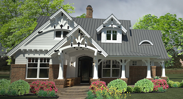 Surprising Craftsman House Plans The House Designers Download Free Architecture Designs Grimeyleaguecom