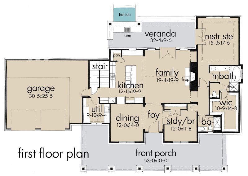 Rockin horse farm 5521 3 bedrooms and 3 5 baths the Farm plan