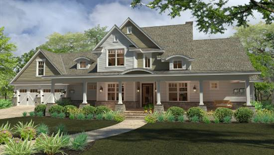 image of Rockin Horse Farm House Plan