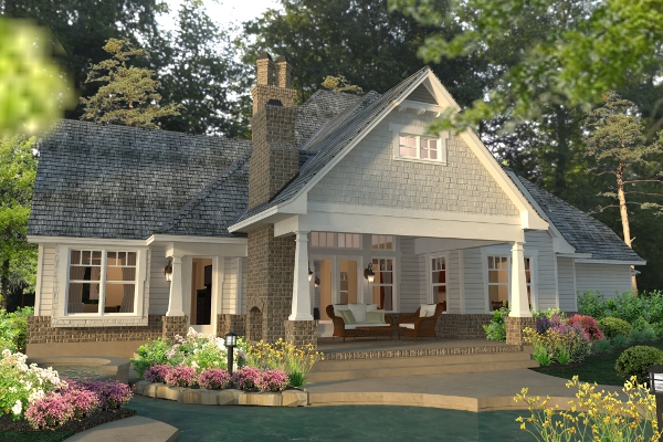 Farm house open plan for Farmhouse two story house plans