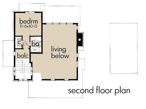 tiny floor plan
