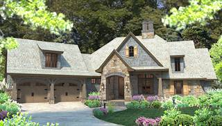 Country French House Plans Euro Style Home Designs by THD