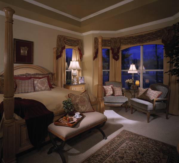 Mansion Master Bedroom: The Ashley 6514 - 4 Bedrooms And 4.5 Baths