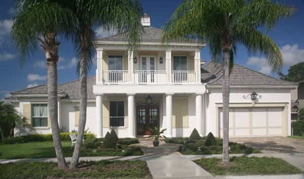 Bahama Breeze beach home plan