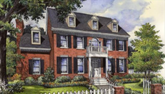 image of Millard Fillmore House Plan