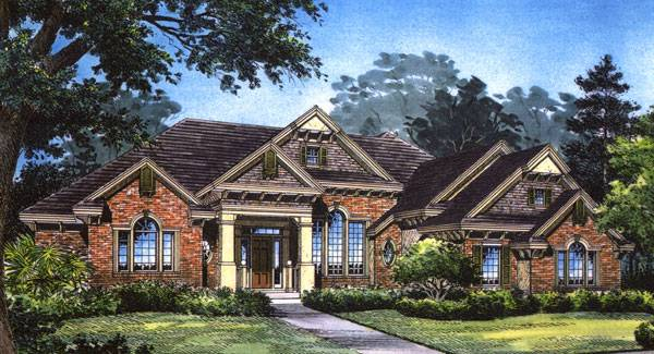 Casius 5055 5 bedrooms and 5 5 baths the house designers for Modern french country house plans