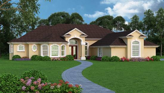 image of Orchid Island House Plan