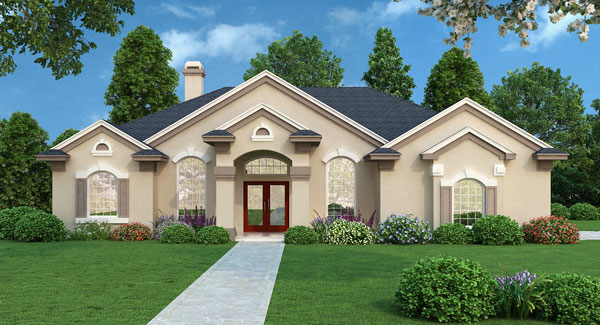 Hot florida house plans to compliment a rising florida for Two story florida house plans