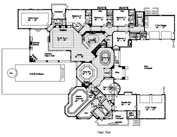 Maison jardin 4935 5 bedrooms and 6 baths the house - Maison jardin house plan villeurbanne ...