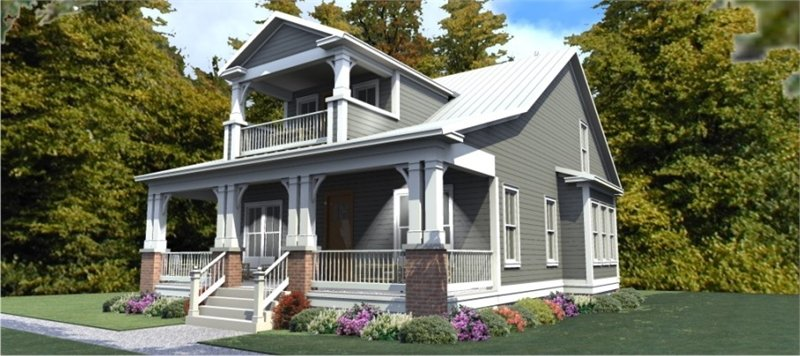 3 Bedroom Bungalow Craftsman House Plan