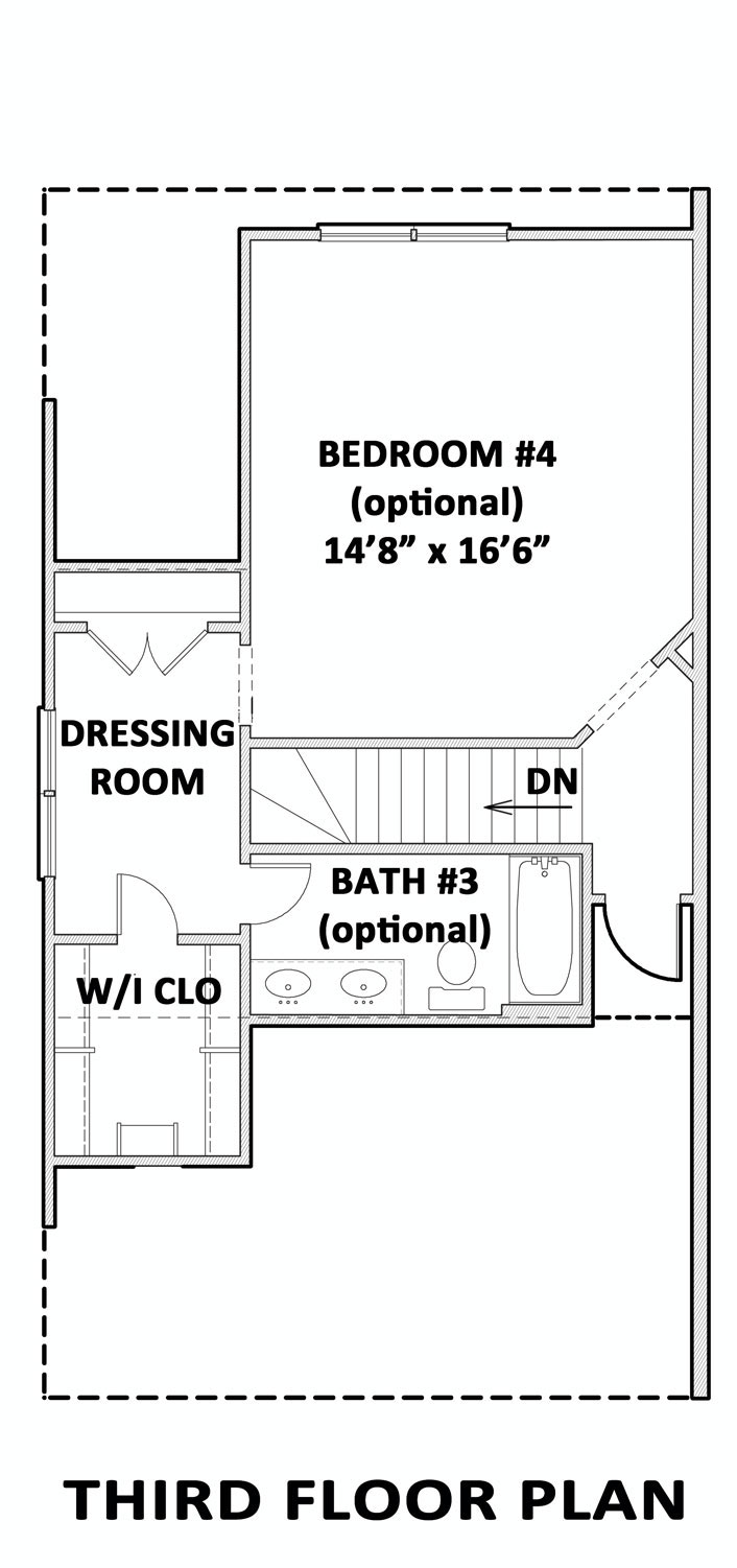 Four bedroom cottage house plan for Virginia house plans