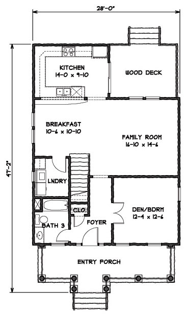 Manchester 9308 - 3 Bedrooms and 3 5 Baths | The House Designers