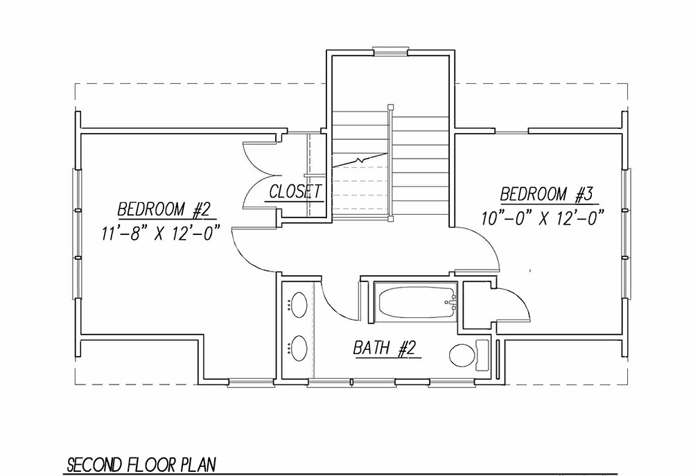 Katrina cottage 1441 3 bedrooms and 2 5 baths the for Katrina cottage floor plans