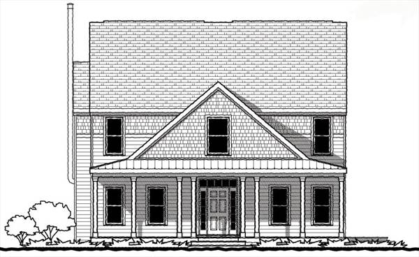 Four bedroom farmhouse 9319 4 bedrooms and 3 5 baths for Shore house plans