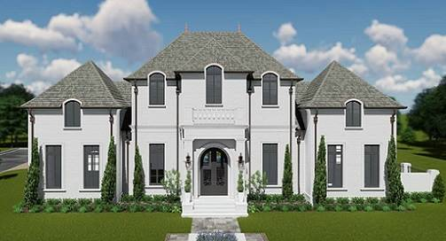 House Plan 6902: Spacious Southern Style Luxury